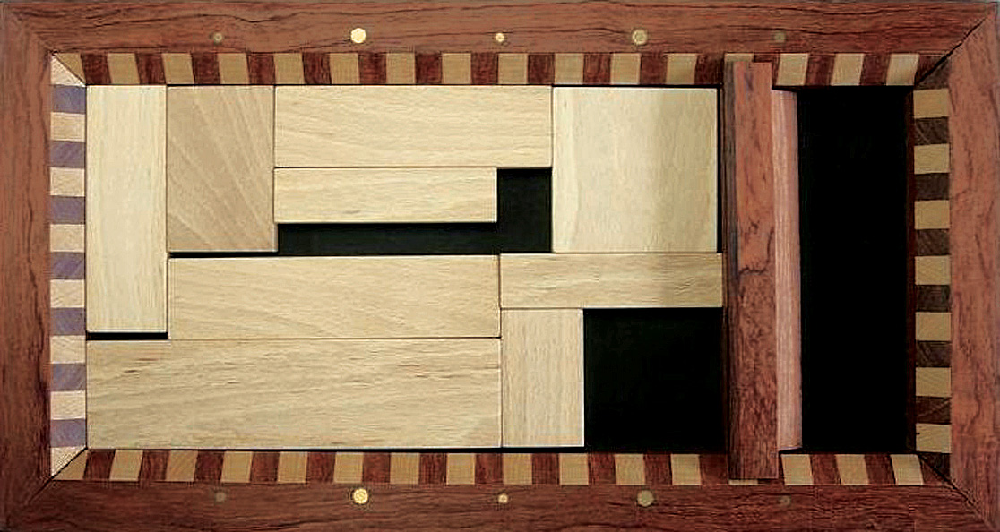 Figure : Wooden packing puzzle