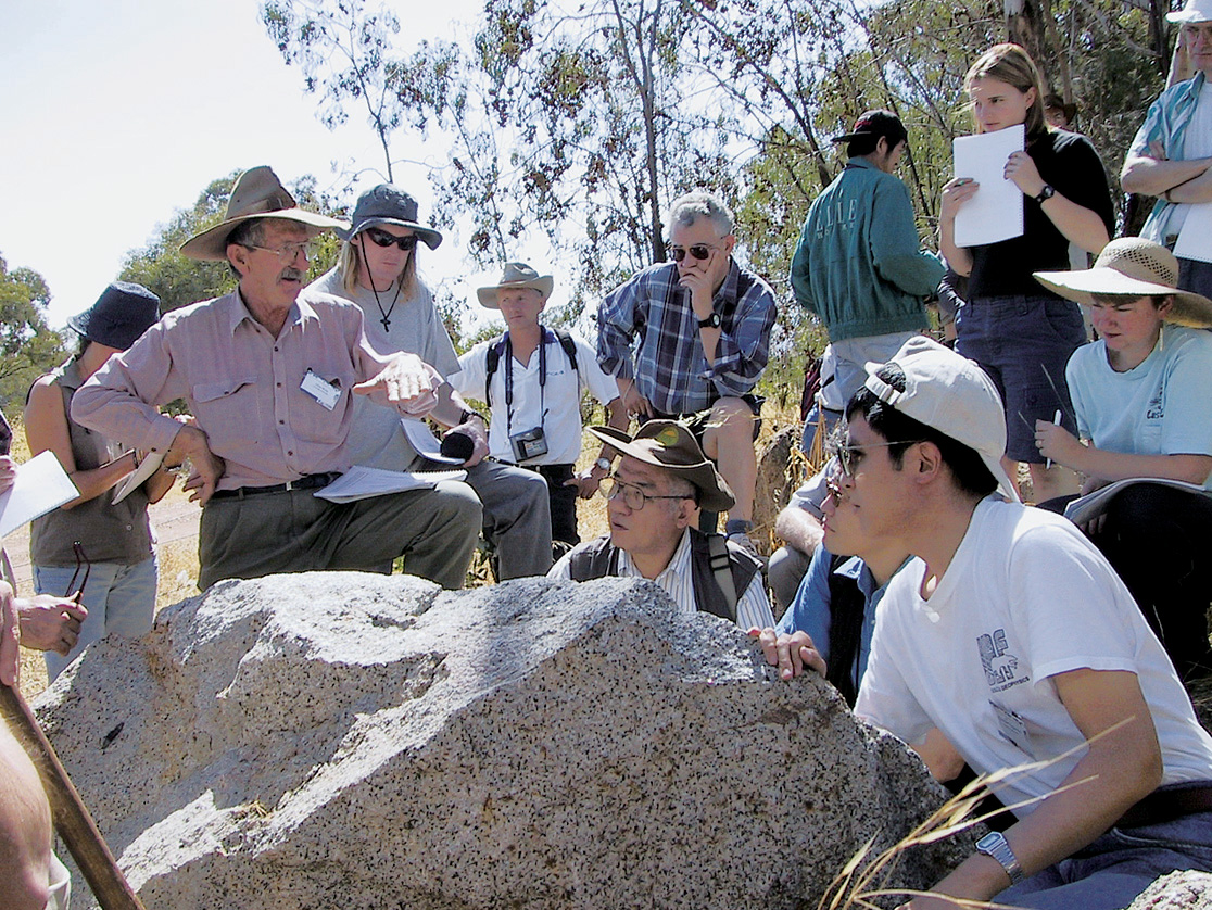 Figure : Granite research in Australia